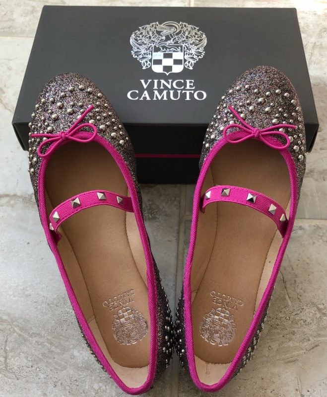 gifts for girls vince camuto sparkly shoes