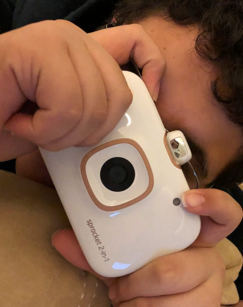 HP Sprocket 2-N-1- tops our Tech Gift Guide this year