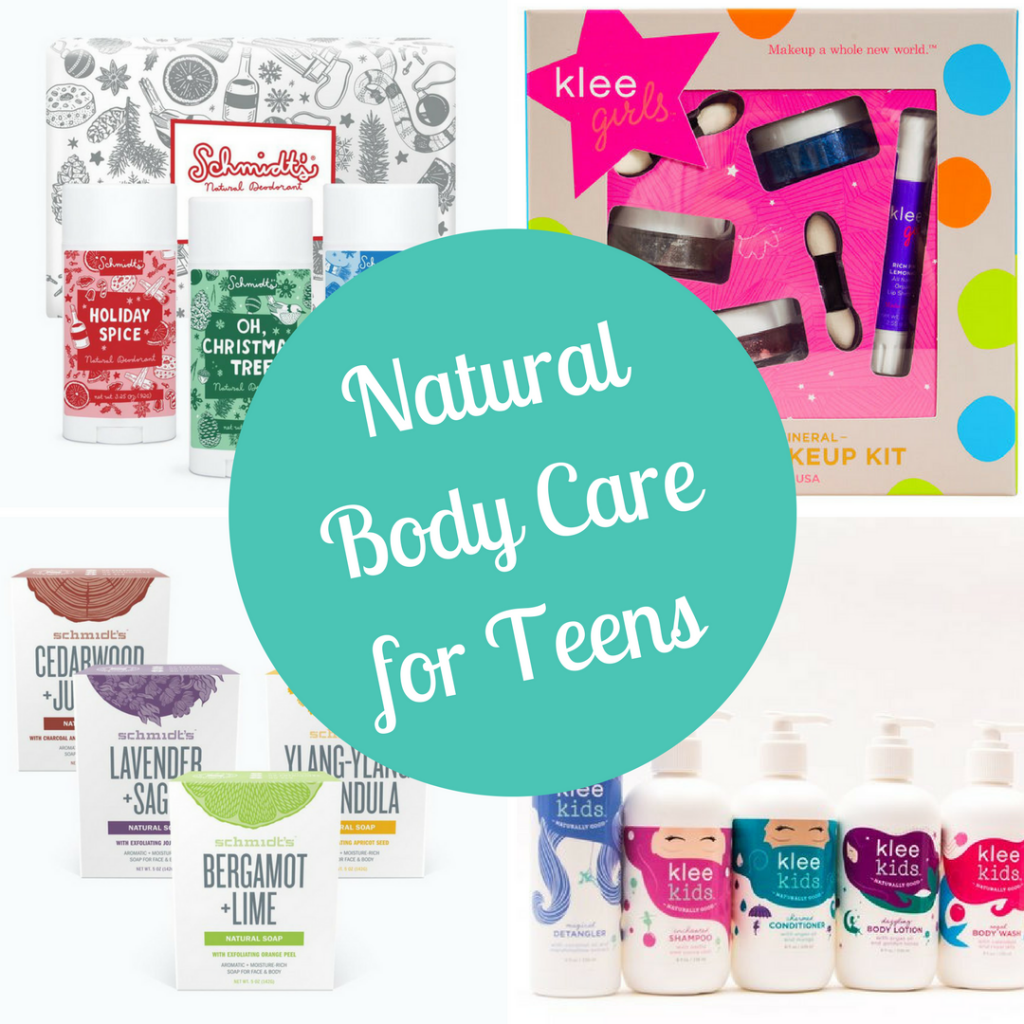 Teens love to smell good, both Schmidt's Naturals and Klee Girls makes great teen gifts