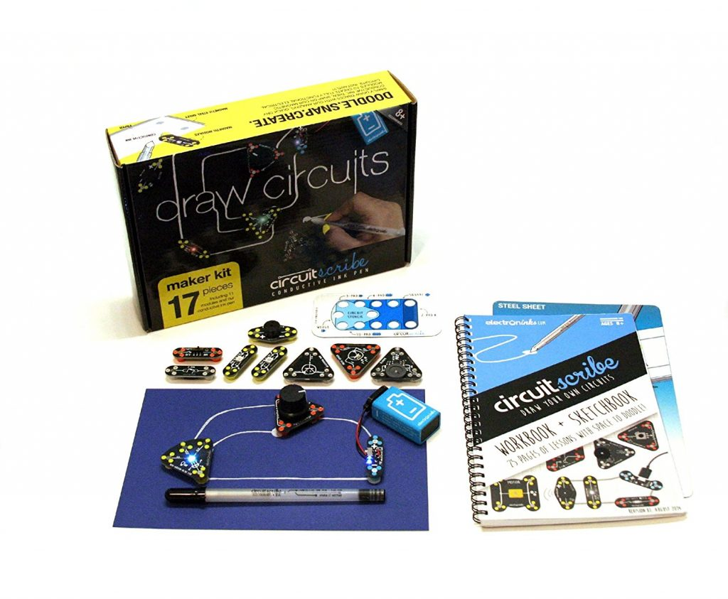 Circuit Scribe is a great gift for teens who like to explore and learn science