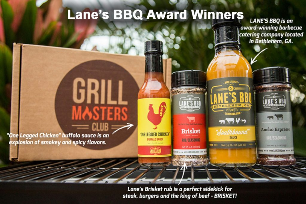 Mens gift idea, a subscription to the Grill Masters club