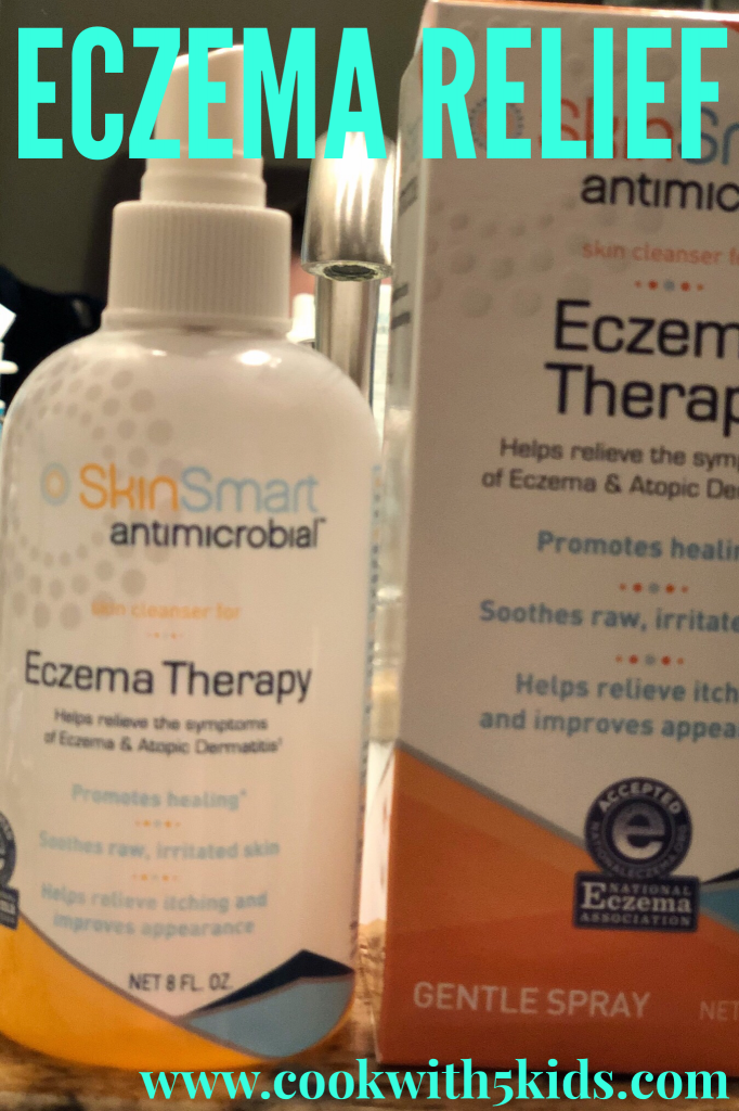 SkinSmart Antimicrobial Eczema Skin Cleanser
