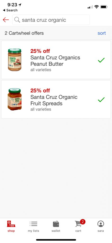 Save 25% off Santa Cruz products at Target with the Cartwheel app