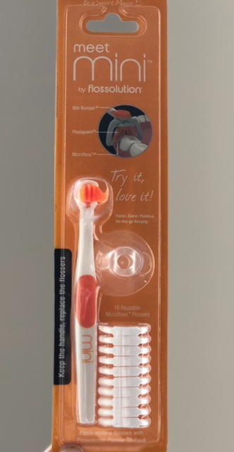 Mini flossolution is the easy way to floss