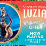 Giveaway of two tickets to Luzia Cirque du Soleil