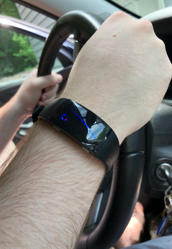 Reliefband helps the symptoms associated with car motion sickness