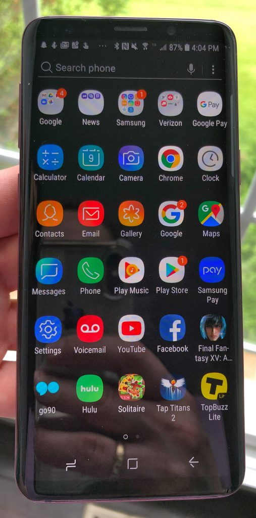 Upgrade Dads phone to a Samsung Galaxy S9 as a great Fathers day gift