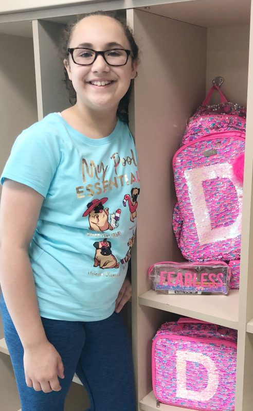 Back to school fashion with flip sequins and gear from Justice