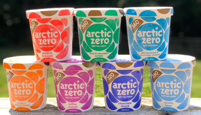 Arctic Zero ice cream, light ice cream, eat the whole pint,