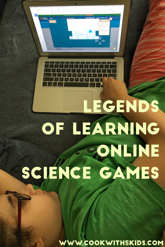 Legends of Learning Online Science Games