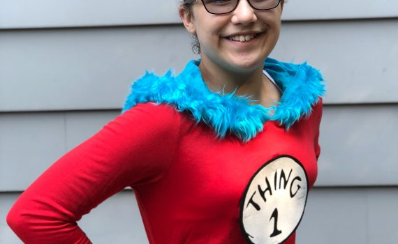 thing 1 or thing 2 easy halloween costume, so many to choose from at party city online store