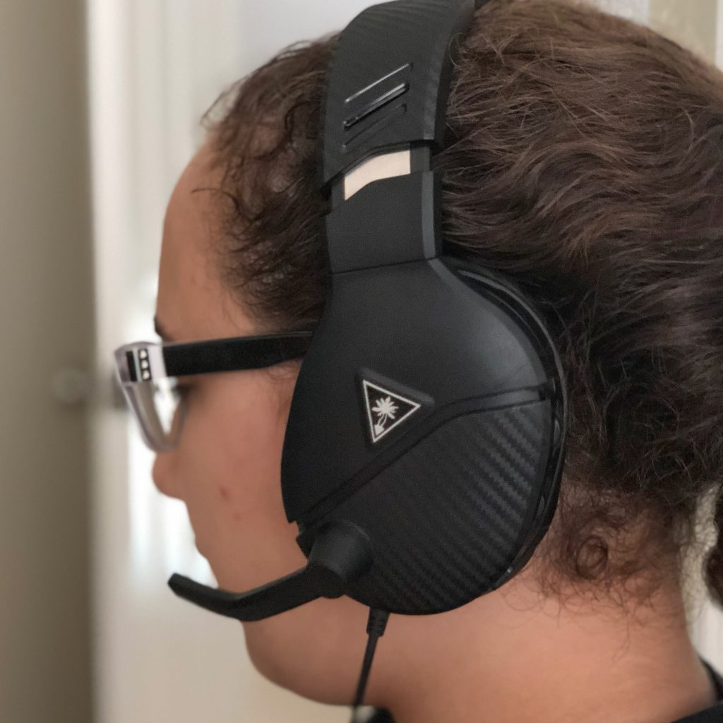 Turtle beach headset for gaming is very comfortable