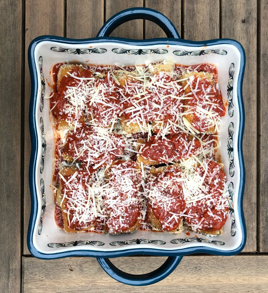 eggplant rollatini, easy and healthy weeknight dinner