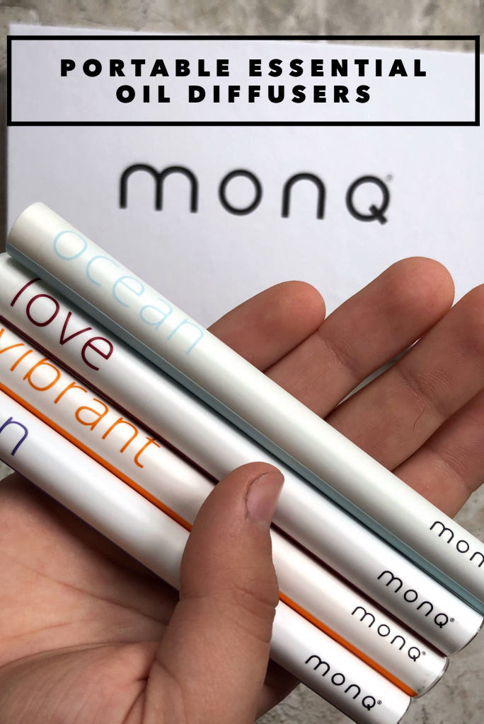 need a better qualia of life? Try these new portable essential oil diffusers from Monq