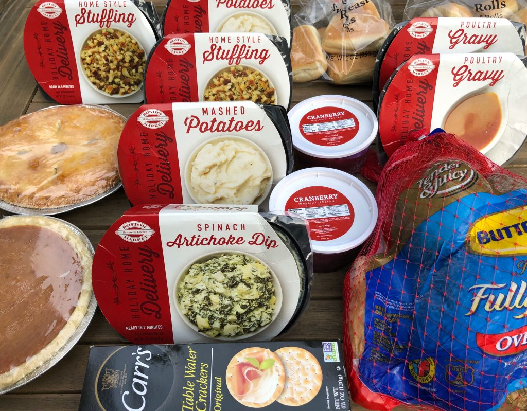 Thanksgiving Dinner Delivered by Boston Market #ad #BostonMarketHoliday