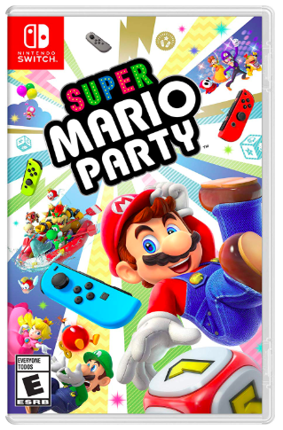 Super Mario Party on the Nintendo Switch, tech gift guide, holiday technology gift