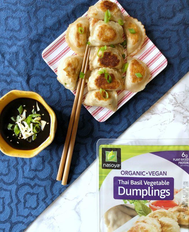 Vegan Dumplings and Dipping Sauce