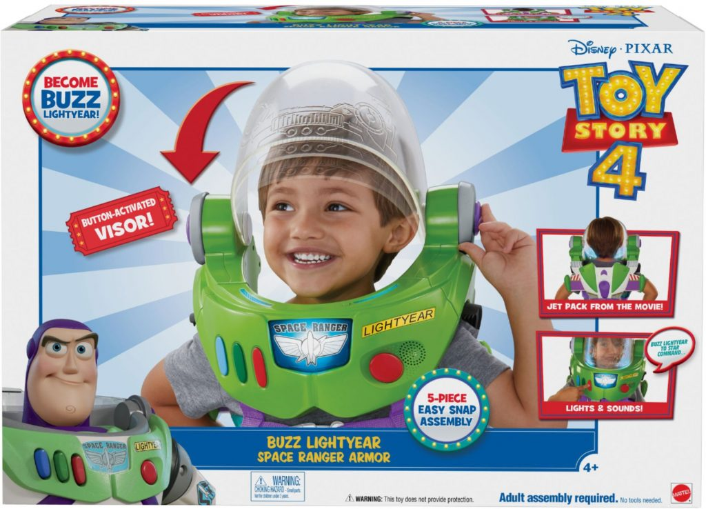 Buzz Lightyear Space Ranger Armor. toy story 4 collectible toys at best buy.