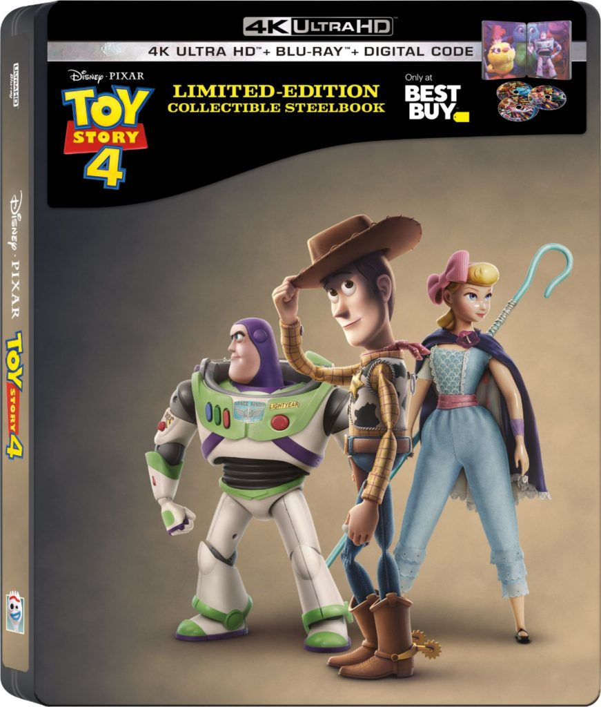toy story 4 steelbook 4K blu ray collectors item