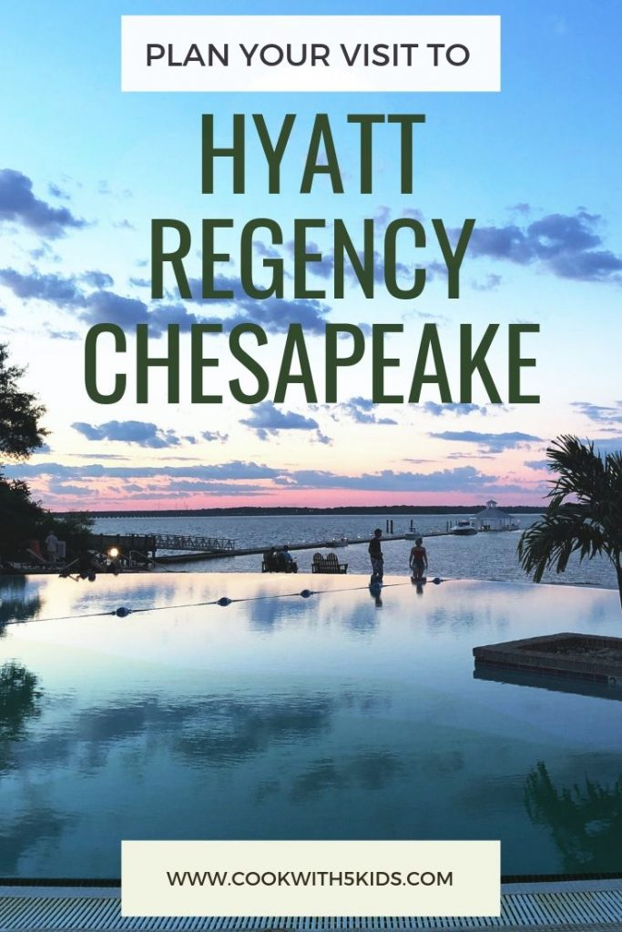 Plan your visit to the Hyatt Regency Chesapeake in Cambridge Maryland