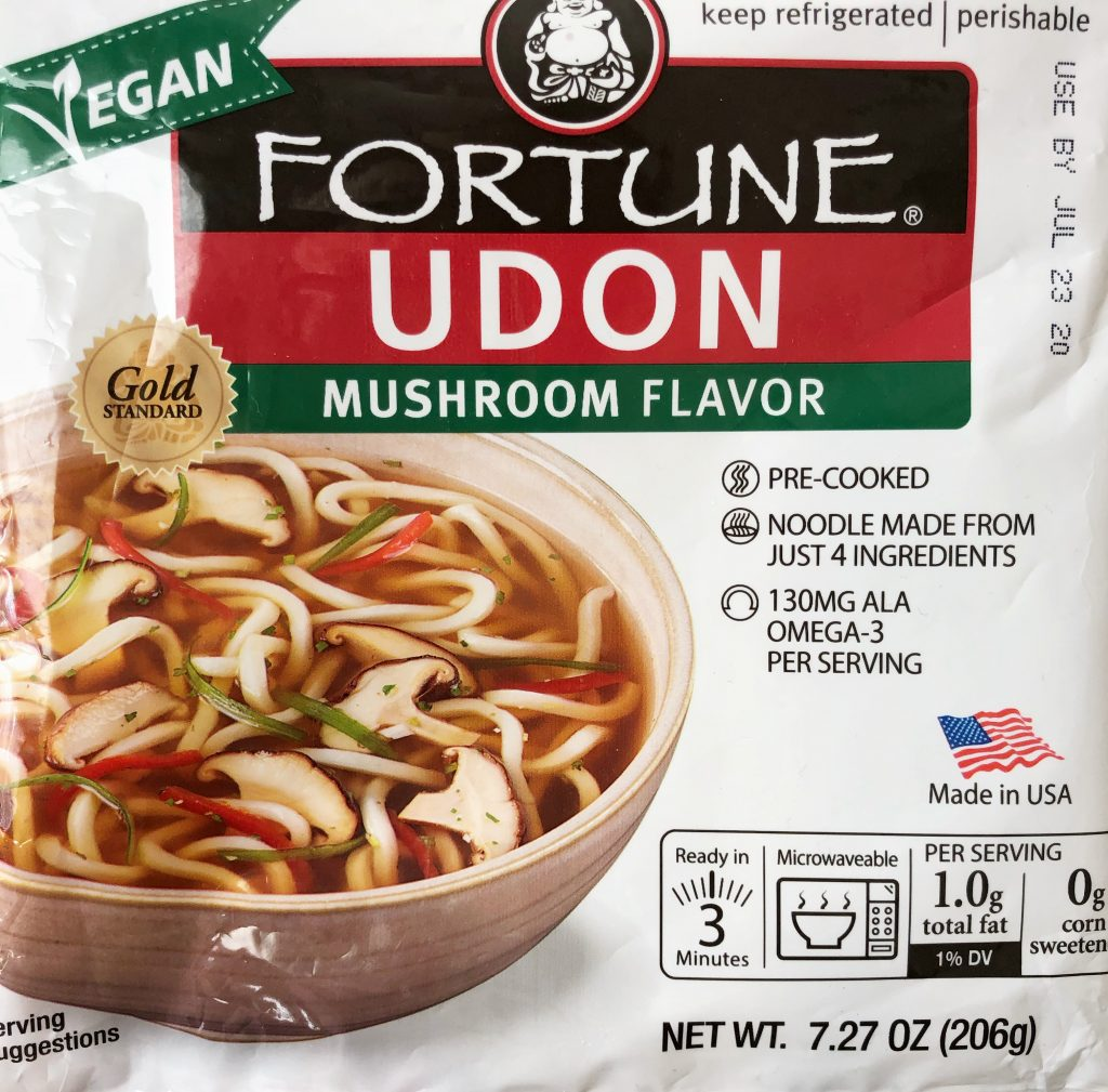 fortune udon noodle package
