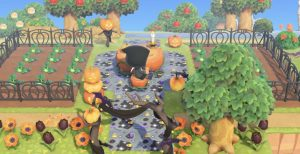 fall update from animal crossing new horizons
