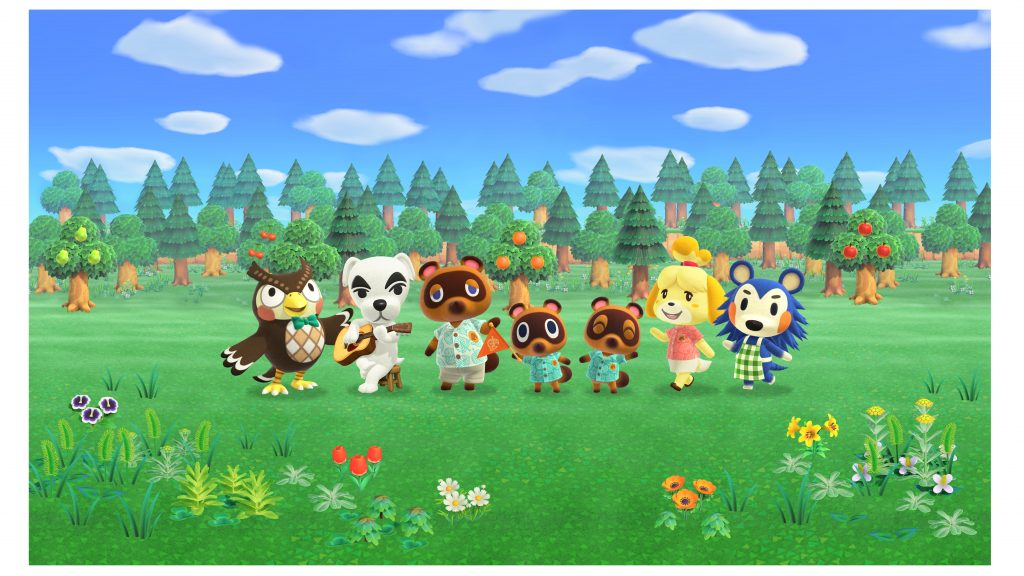 animal crossing new horizons townspeople