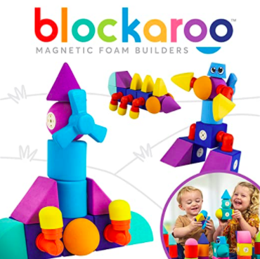 blockaroo magnetic building blocks