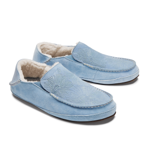 womens light blue olukai slippers
