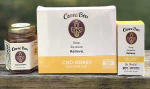 canna bees bee delightful CBD honey