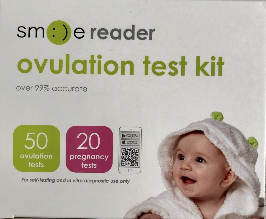 ovulation test kit from smile reader
