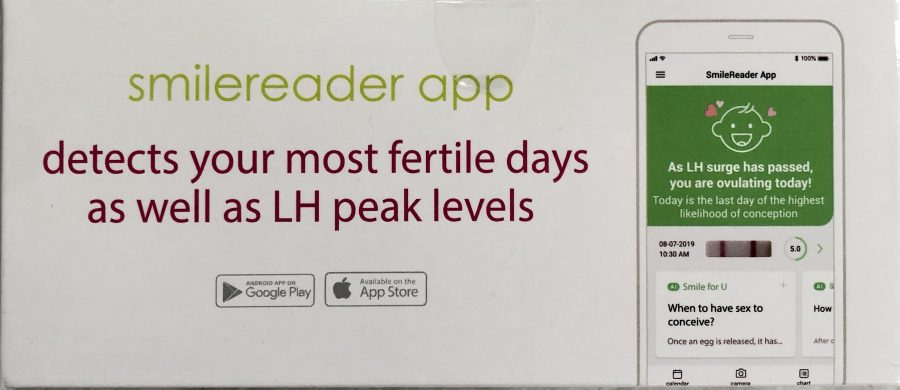 smile reader app helps you find your most fertile days
