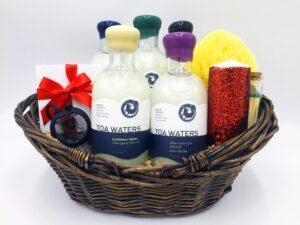 TOA waters gift basket