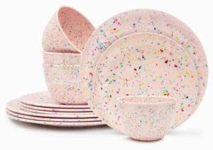 confetti dinnerware from Zak