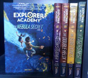 explorer academy adventure book series