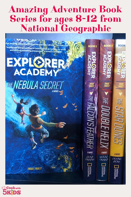 explorer academy book series