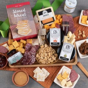 Artisan Meat and cheese charcuterie gift basket