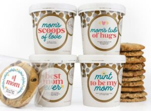 eCreamery collection of ice creams for Mom