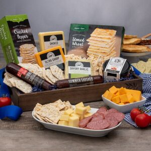 gourmet gift basket for fathers day