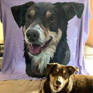 My Pet Print blanket