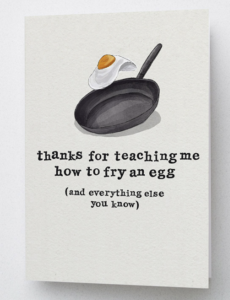 Father's day card from Fluttr