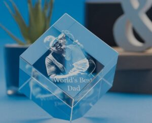 crystal clear memories father's day gift