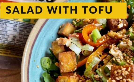 how to make a salad with tofu