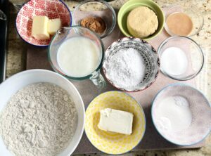 cinnamon roll ingredients for chefiq