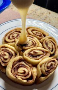 cinnamon rolls homemade