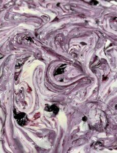 blueberry lemon cheesecake swirls